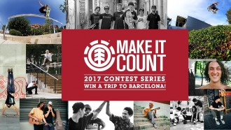 "Element ""MAKE IT COUNT"" 2017"