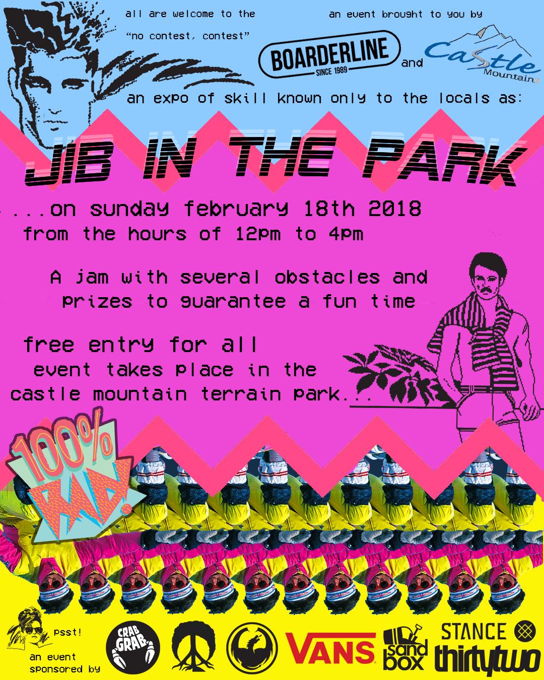 JibInThePark2018_Poster