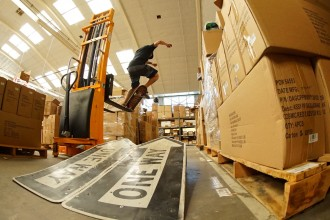 The Box Brigade – Skate One Shipping Department